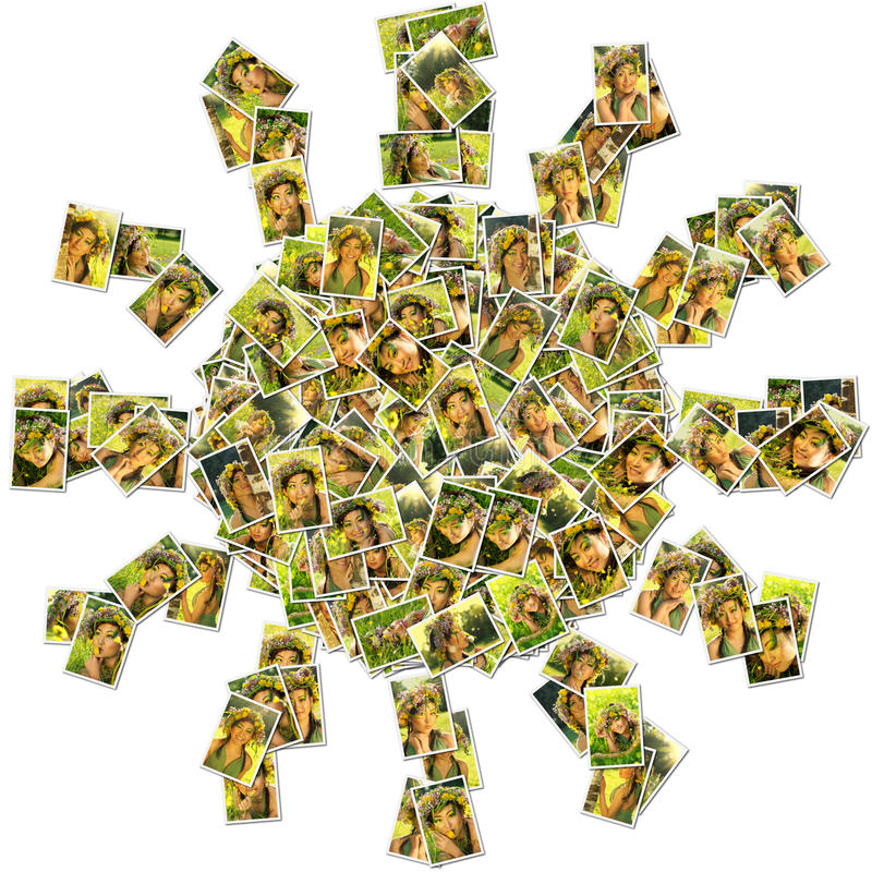 Create instant photo collages online with Shape Collage