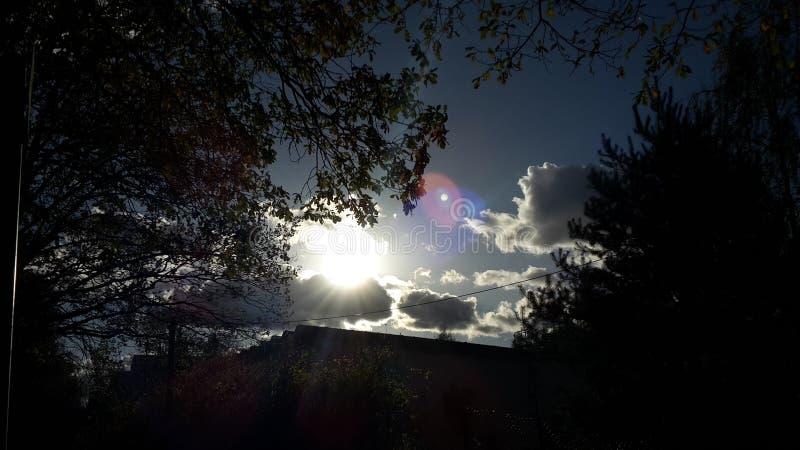 Sun Shinning photos libres de droits