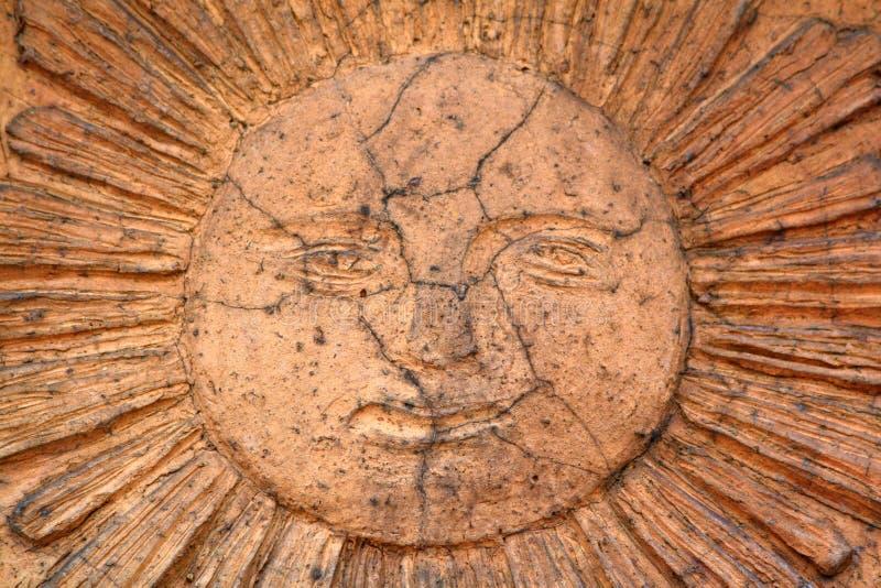 Sun-Skulptur lizenzfreie stockbilder