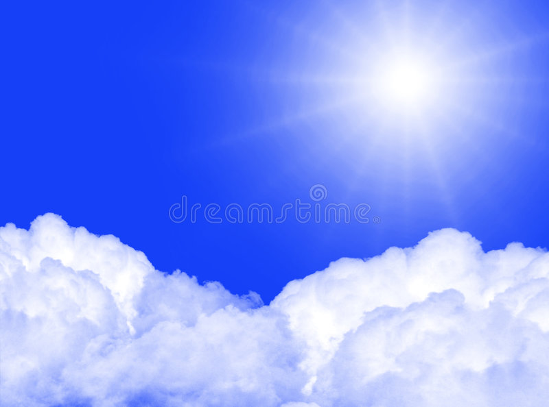 Download Sun In The Sky Royalty Free Stock Photography - Image: 8254887