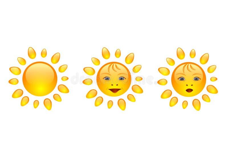 Sun Smile Stock Photography