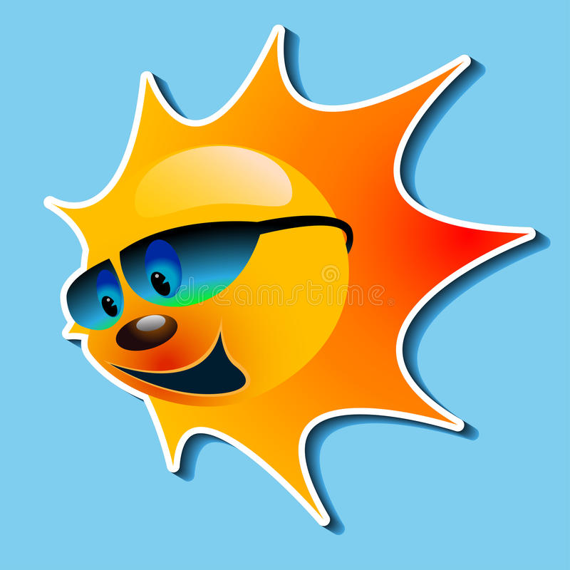 Download Sun With A Smile Stock Image - Image: 30591731