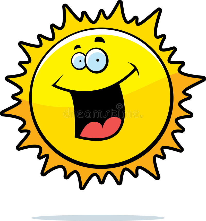 Download Sun Smiling stock vector. Image of nature, illustration - 10303497