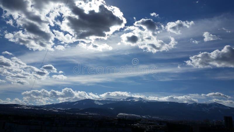 Sun a Sofia, Bulgaria immagini stock
