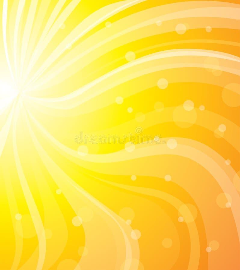 Sun-Sommer vektor abbildung