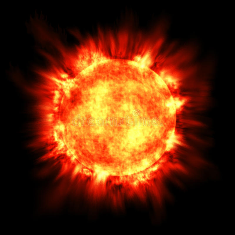 Free Sun Star Solar Flare Astronomy Fusion Hot Fire Stock Images - 15278824