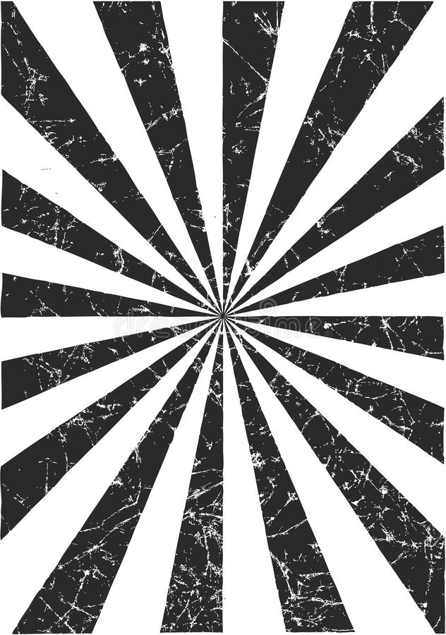 Sun-Strahln-Vektor-Muster zerknittert oder Vektor-Hintergrund zerknittert vektor abbildung