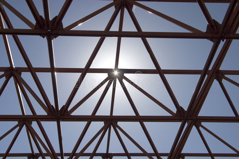 Sun Structure royalty free stock image