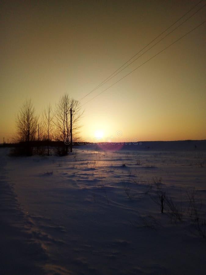 Sun before sunset stock photos