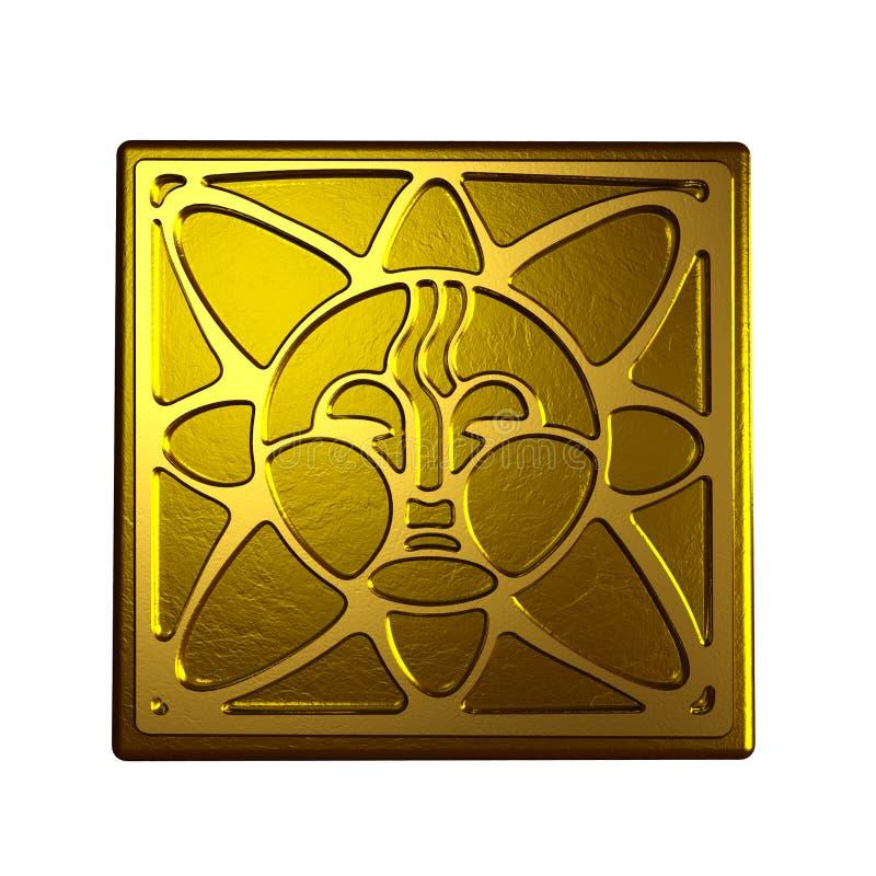 Sun-Symbol lizenzfreie abbildung