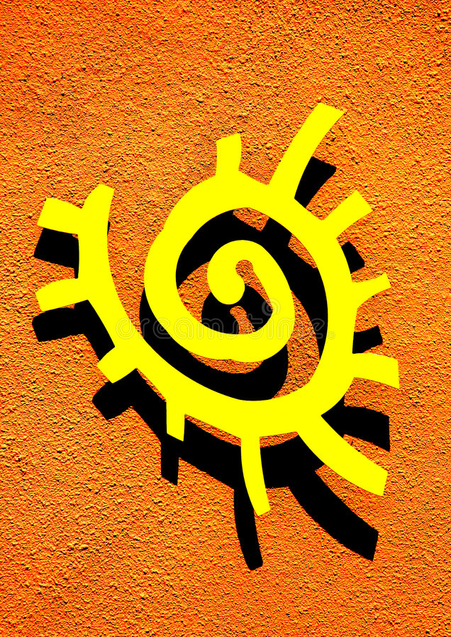Sun Symbol Stock Photo Image Of Symbol Southwest Mexico 6279770