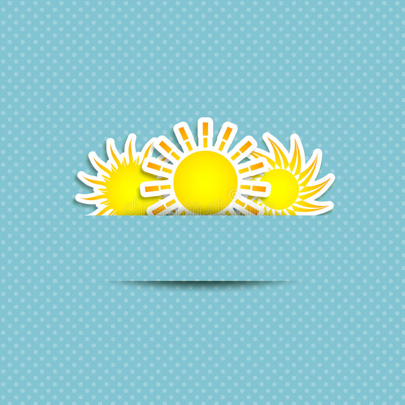 Download Sun Symbol Background stock vector. Illustration of eps10 - 24319650