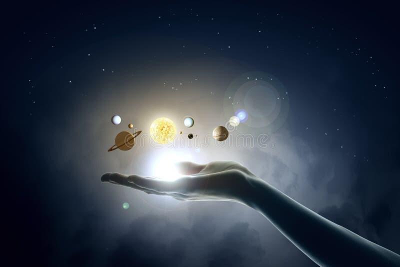 Sun system vector illustration