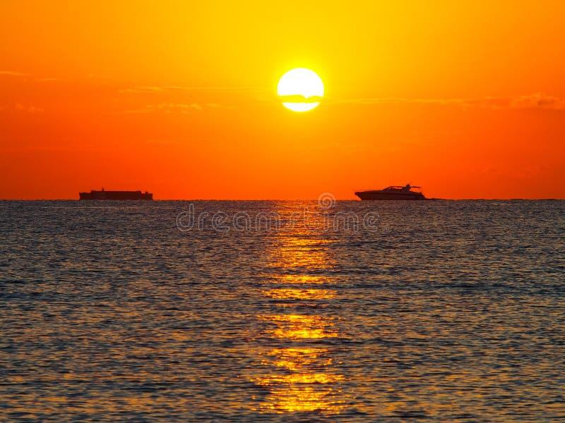 Sun trek royalty free stock photos