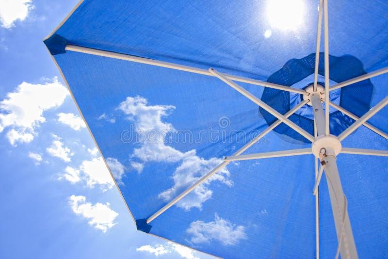 Sun umbrella stock image