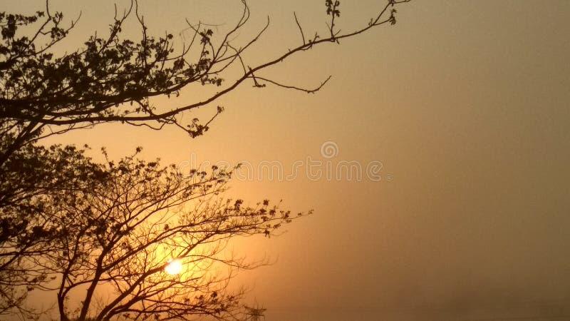 Sun unten, lizenzfreie stockbilder