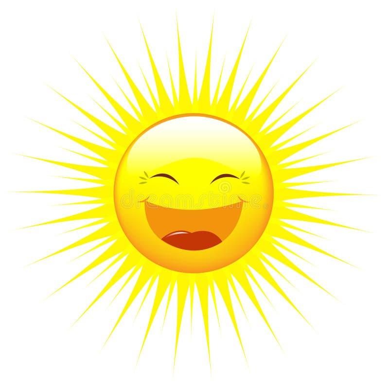 Sun. Vecteur illustration de vecteur