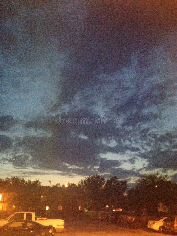 Sun vers le bas photographie stock libre de droits