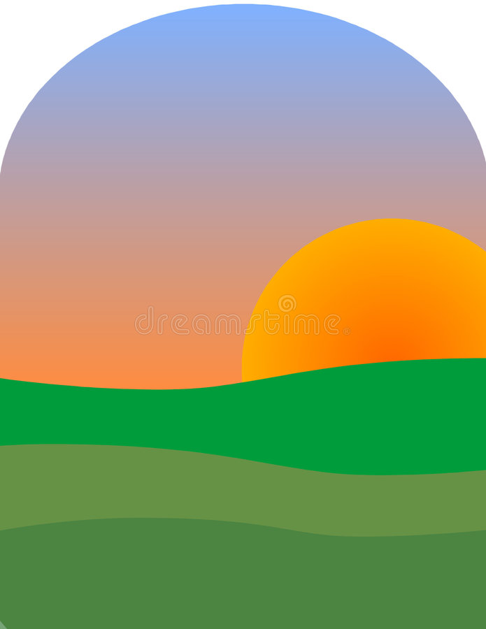 Sun Vers Le Haut Photo stock