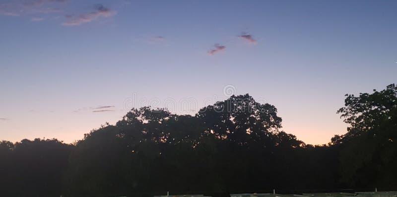 Sun vers le haut du Texas images stock