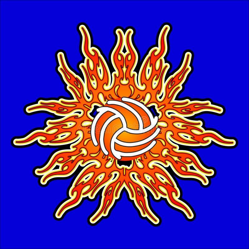 Download Sun Volleyball stock vector. Illustration of ball, balls - 10546754