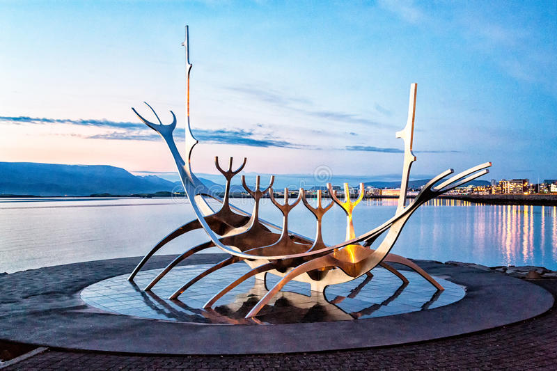 Sun Voyager, Reykjavik, Islande photo stock