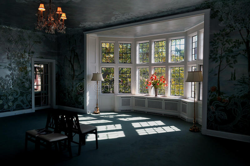 Sun through the window royalty free stock photography
