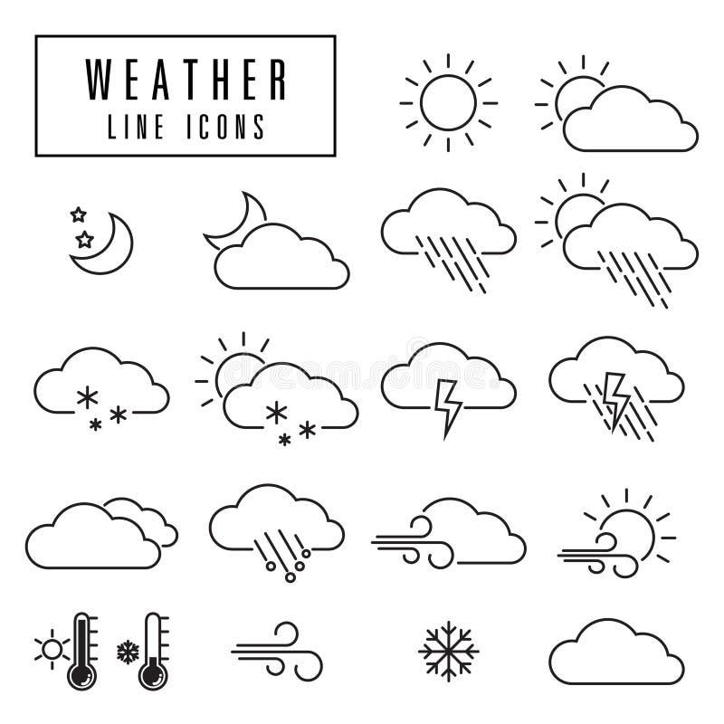 Sun, Wolke und Regen vektor abbildung