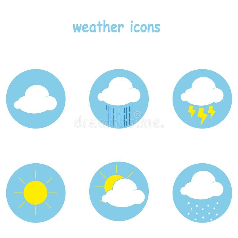 Sun, Wolke und Regen stockfotografie