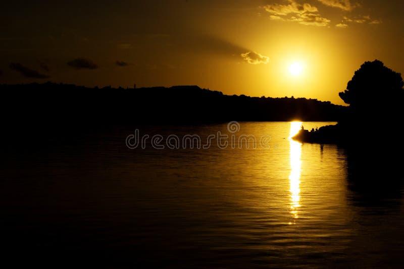 Sun y mar fotografía de archivo libre de regalías