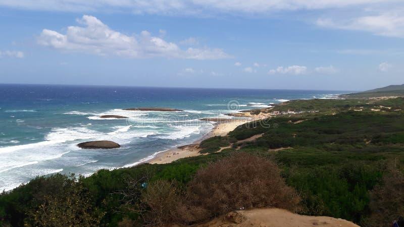 Sun y playa fotografía de archivo