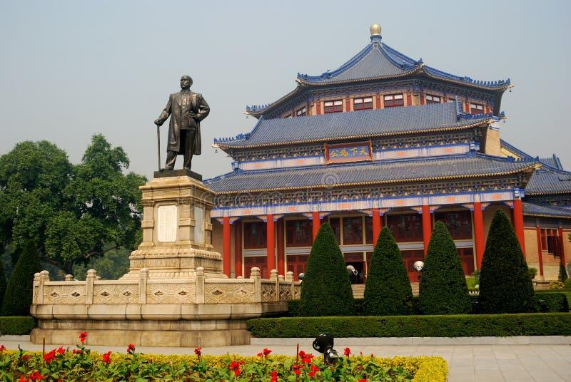 Sun Yat-sen, Guangzhou, Chine photos stock