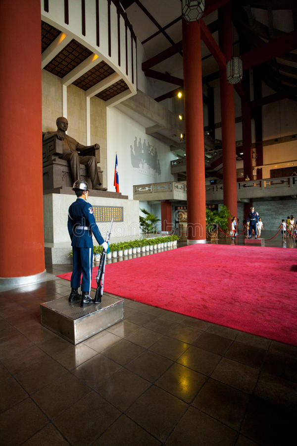 Download Sun Yat Sen Guards Inside editorial image. Image of photography - 23182570