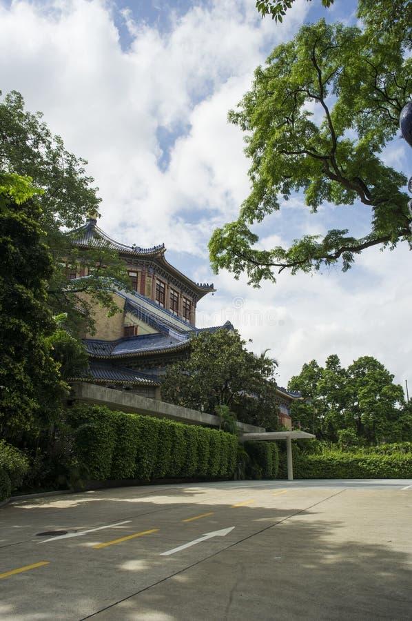 Sun Yat-sen hall commémoratif image libre de droits