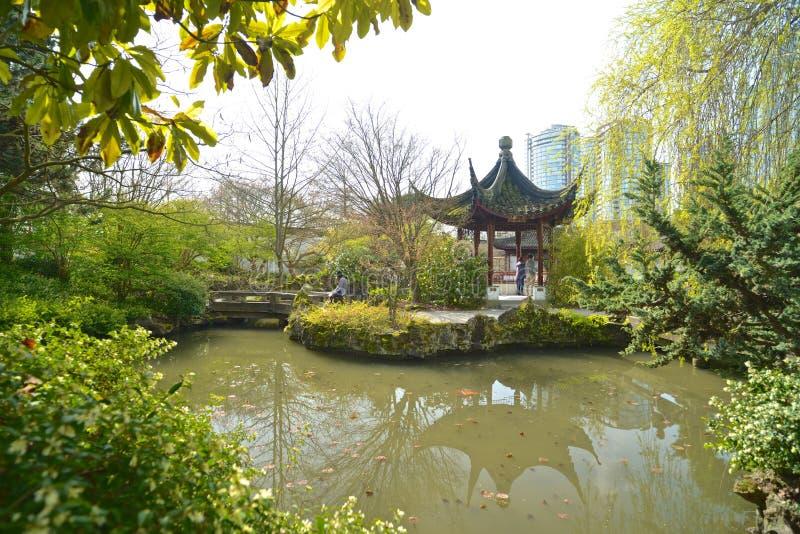 Sun Yat-sen Jawny park w Vancouver Kanada zdjęcia royalty free
