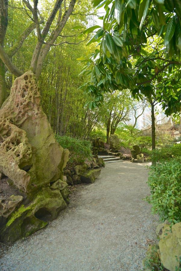 Sun Yat-sen Jawny park w Vancouver Kanada fotografia stock