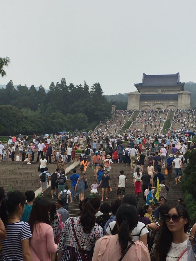 the Sun Yat-sen Mausoleum; royalty free stock image