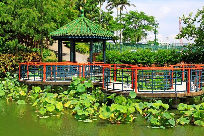 Sun Yat-sen Park, Macao, Cina fotografia stock