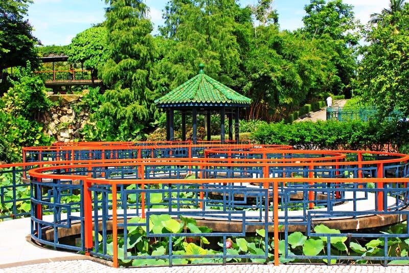Sun Yat-sen Park, Macao, Cina fotografie stock