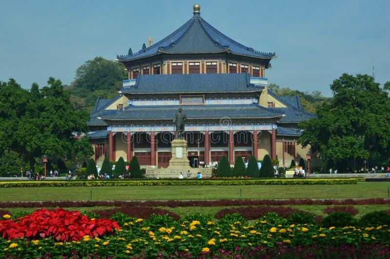 Sun Yat-sen pasillo conmemorativo fotos de archivo libres de regalías