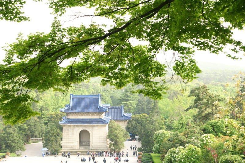 Download Sun Yat-sen's mausoleum stock image. Image of nanking - 14146833