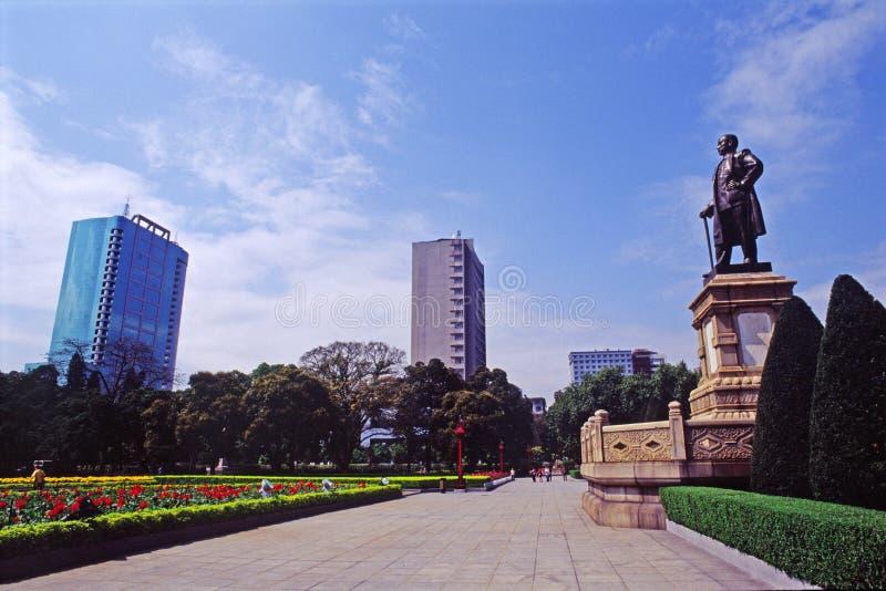 Sun- Yat-sendenkmal lizenzfreie stockfotos