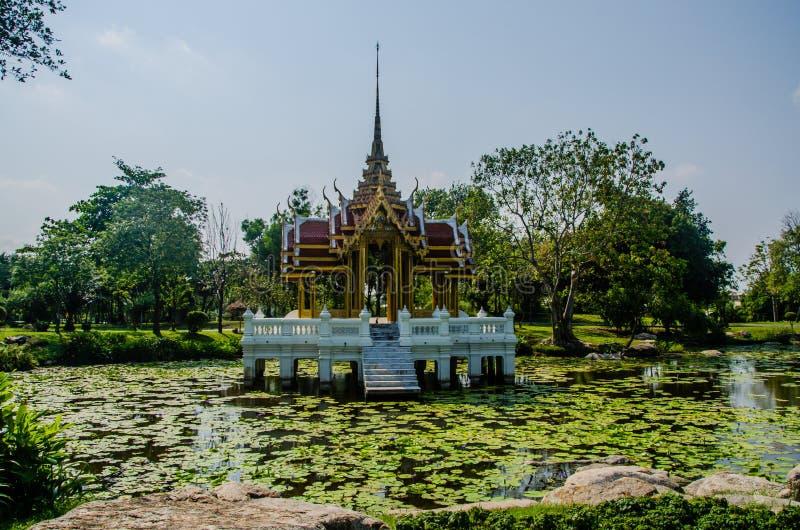 Sunag Luang park, Bangkok, Tajlandia fotografia royalty free