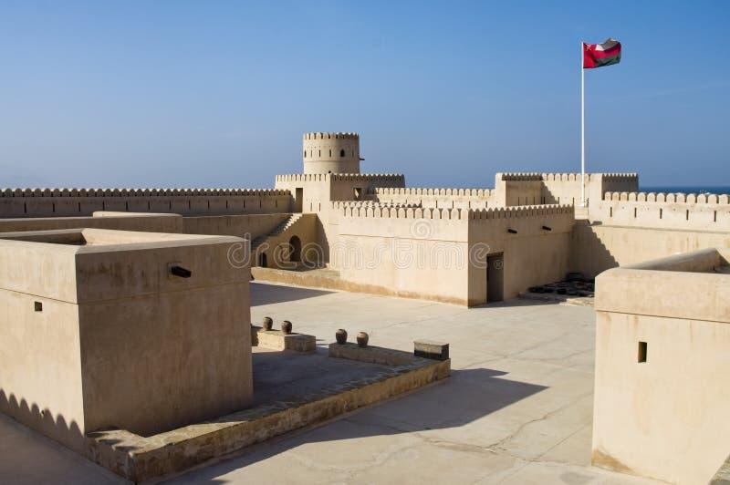 Sunaysilah Castle stock photography