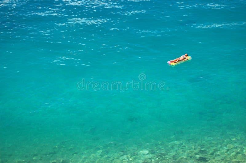 Download Sunbathing On Adriatic Waters Stock Photo - Image: 20755788