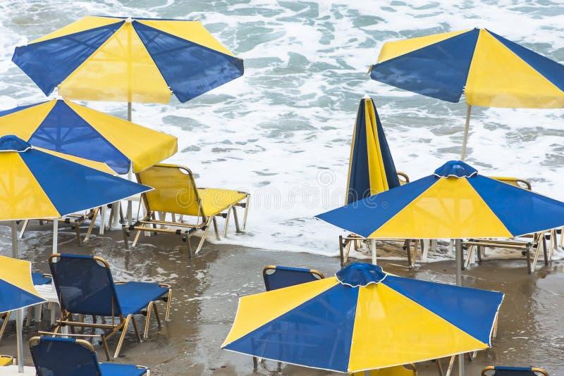 Sunbathing Canceled stock photo