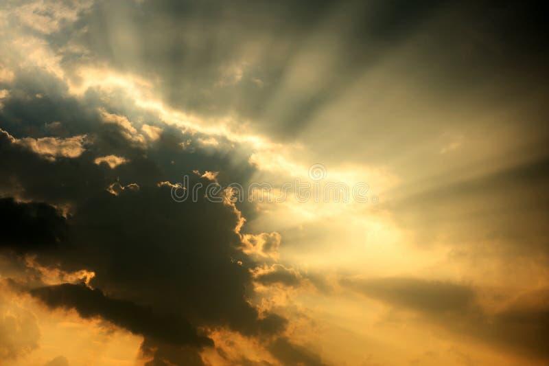 Sunbeam Stock Photo