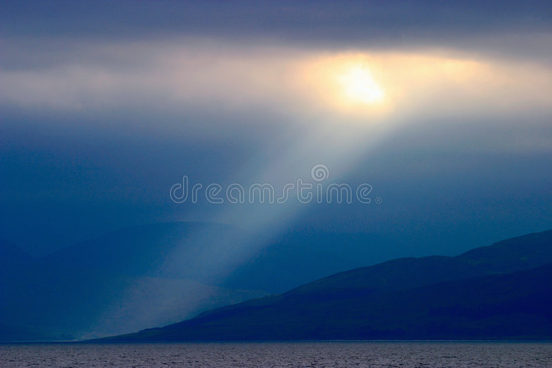 sunbeam стоковое изображение rf