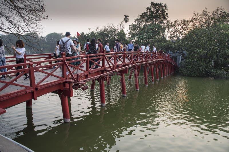 Sunbeam Bridżowy Hanoi zdjęcia royalty free