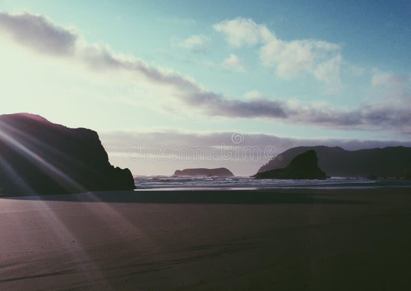 Sunbeam plaża obraz stock